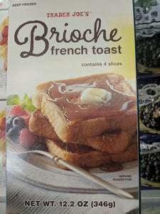 Trader Joe's Brioche French Toast (Frozen)
