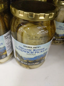 Trader Joe's Organic Sandwich Pickles