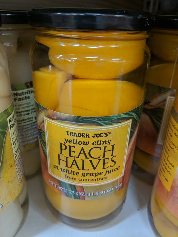Trader Joe's Peach Halves