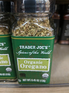 Trader Joe's Organic Oregano  (Spices of the Wold)