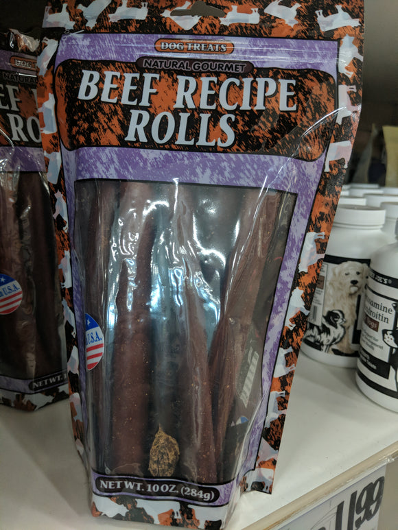 Trader Joe's Natural Gourmet Beef Recipe Rolls (For Dogs!)