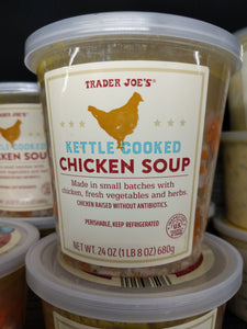 Trader Joe's Kettle Cooked Chicken Soup (Refrigerated)