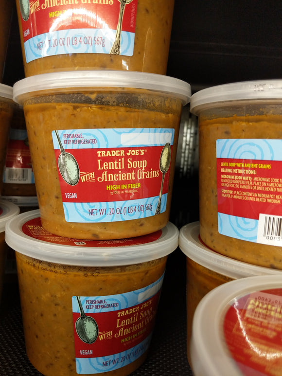 Trader Joe's Lentil Soup with Ancient Grains (Refrigerated)