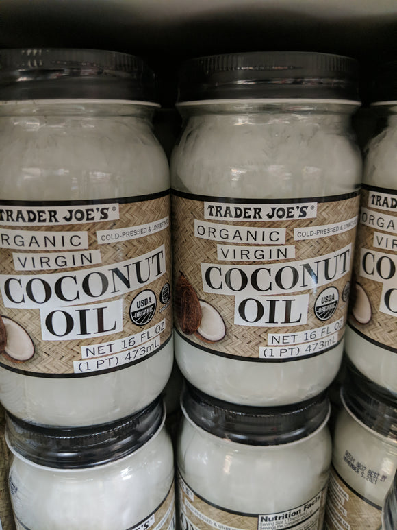 Trader Joe's Organic Virgin Coconut Oil