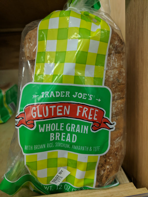 Trader Joe's Whole Grain Brown Rice Bread