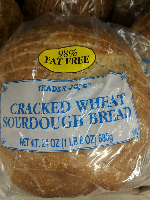 Trader Joe's Cracked Wheat Sourdough Bread
