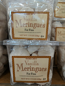 Trader Joe's Fat Free Vanilla Meringues