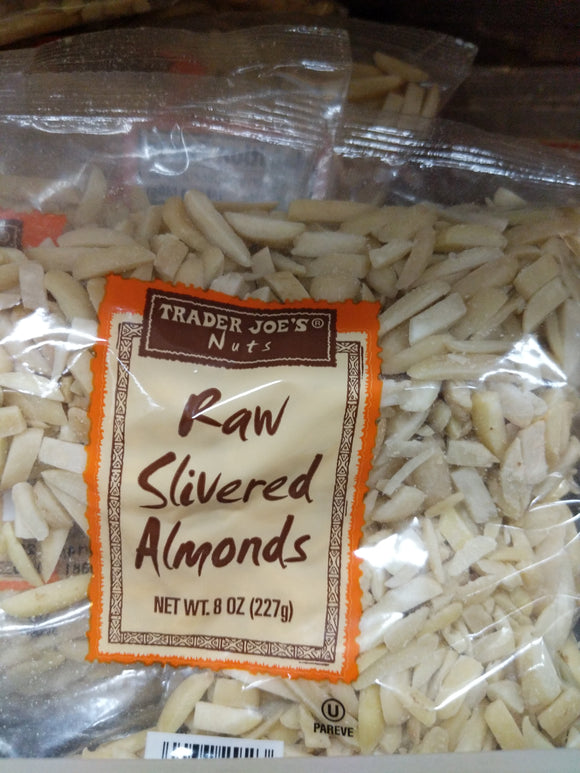 Trader Joe's Raw Slivered Almonds