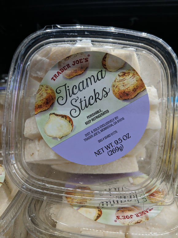 Trader Joe's Sliced Fresh Jicama Sticks