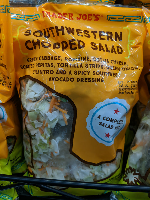 Trader Joe's Southwestern Chopped Salad Kit