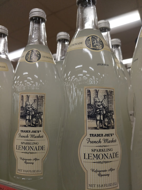 Trader Joe's Sparkling Lemonade