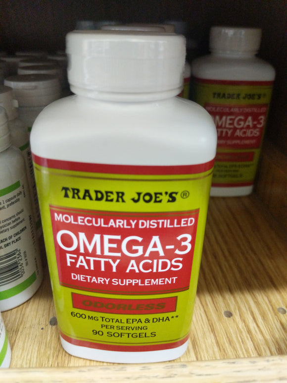 Trader Joe's Omega-3 Fatty Acids