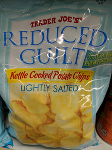 Trader Joe's Reduced Guilt Kettle Cooked Potato Chips