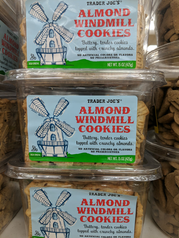 Trader Joe's Almond Windmill Cookies