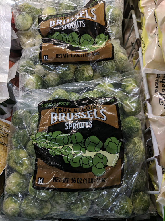 Trader Joe's Brussels Sprouts (Frozen)