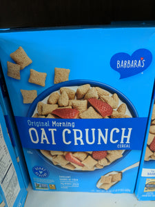 Barbara's Morning Oat Crunch Cereal