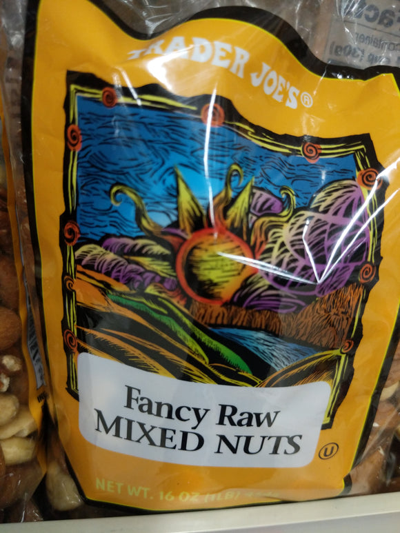 Trader Joe's Fancy Raw Mixed Nuts