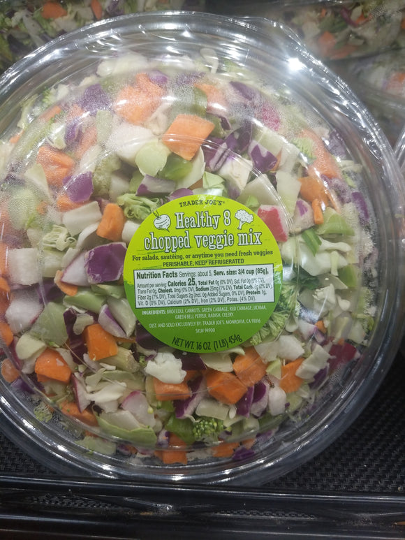 Trader Joe's Healthy 8 Chopped Veggie Mix