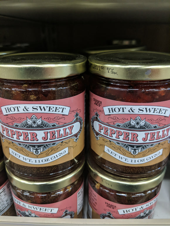 Trader Joe's Hot & Sweet Pepper Jelly