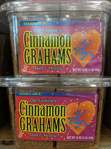 Trader Joe's Old Fashioned Cinnamon Grahams