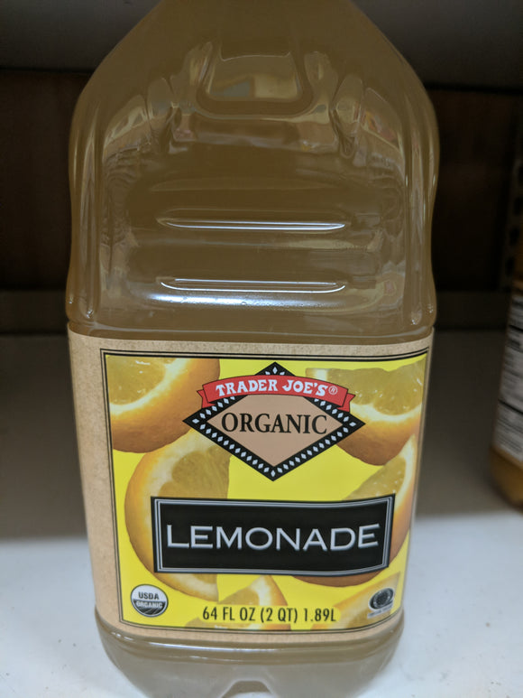 Trader Joe's Organic Lemonade