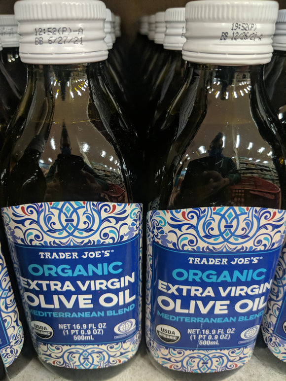 Trader Joe's Organic Extra Virgin Olive Oil (Mediterranean Blend)