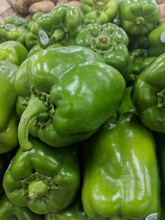 Trader Joe's Green Bell Peppers