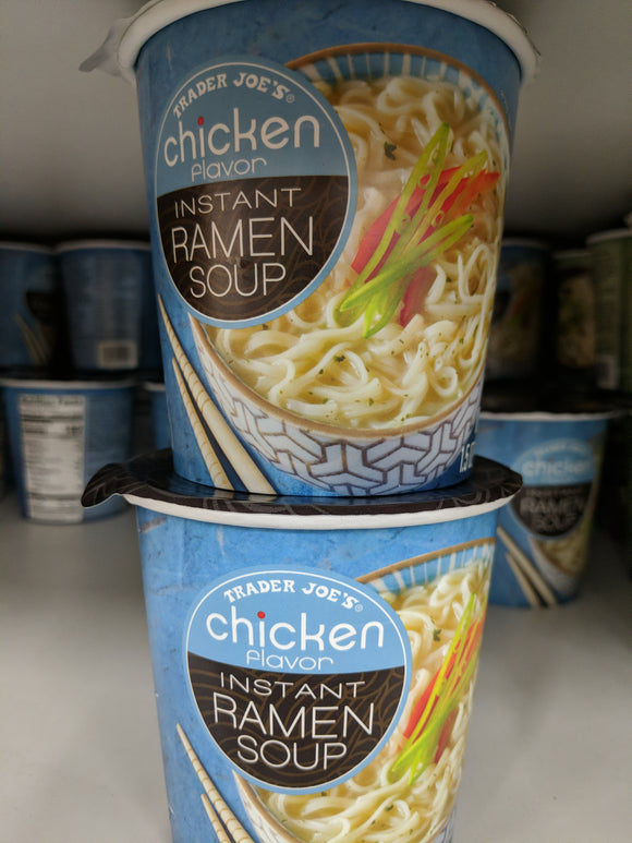 Trader Joe's Chicken Flavor Instant Ramen Soup