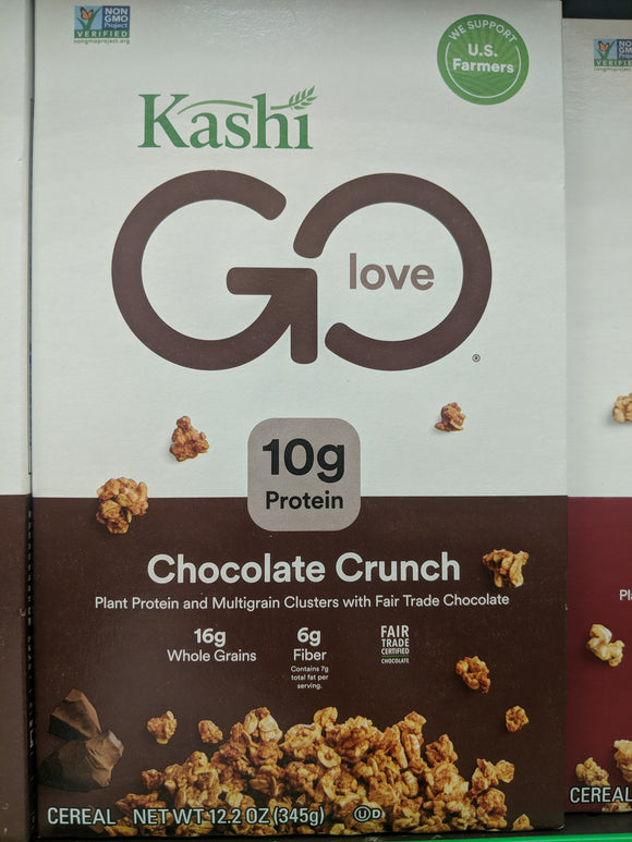 Kashi Go Love Chocolate Crunch Cereal