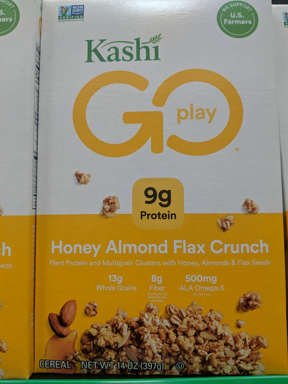Kashi Go Play Honey Almond Flax Crunch Cereal