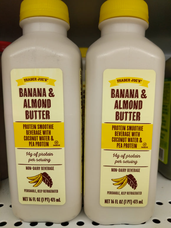 Trader Joe's Banana and Almond Butter Non-Dairy Beverage