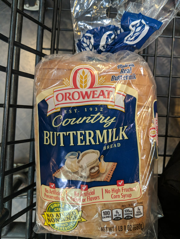 Oroweat Buttermilk Bread