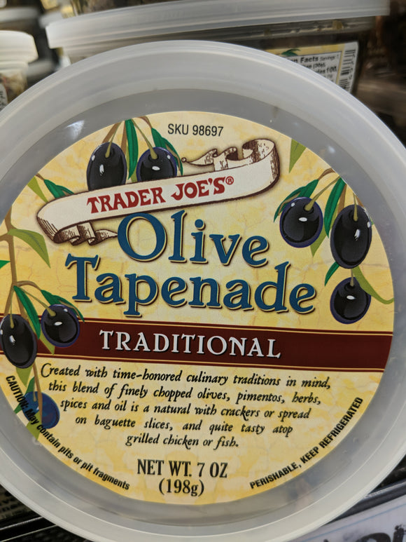 Trader Joe's Traditional Olive Tapenade Spread