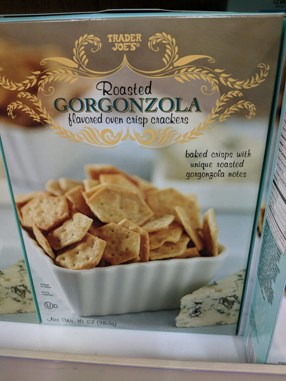 Trader Joe's Roasted Gorgonzola Flavored Crackers