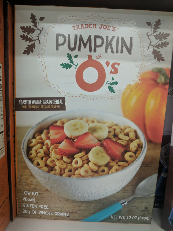 Trader Joe's Pumpkin O's Cereal