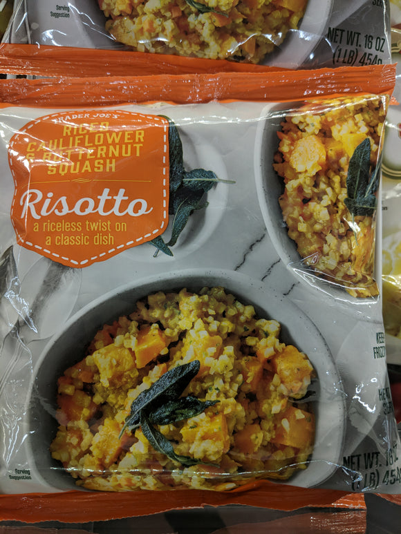 Trader Joe's Riced Cauliflower and Butternut Squash Risotto (Frozen)