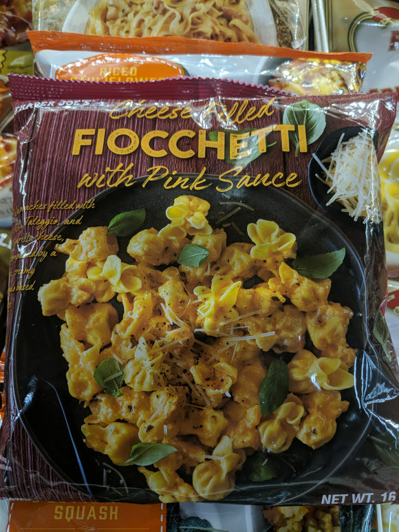 Trader Joe's Cheese Fiocchetti with Pink Sauce (Frozen)