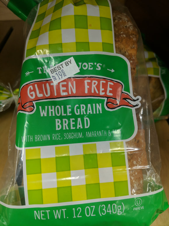 Trader Joe's Gluten Free Whole Grain Bread