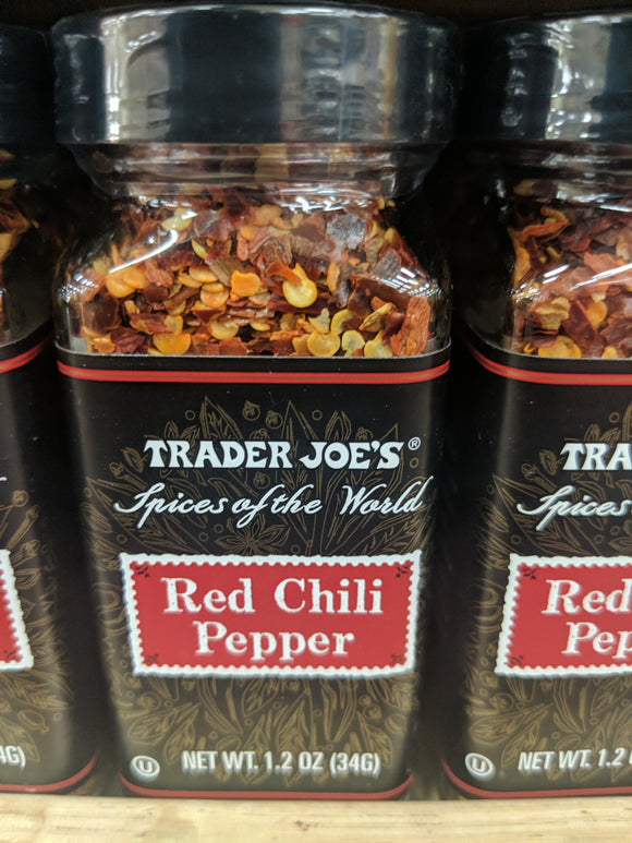 Trader Joe's Red Chili Pepper  (Spices of the Wold)