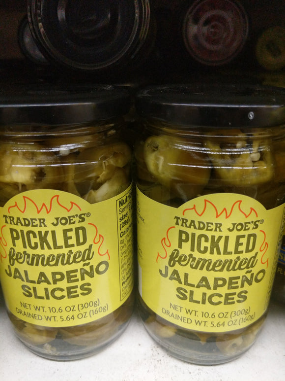 Trader Joe's Pickled Fermented Jalapeno Slices