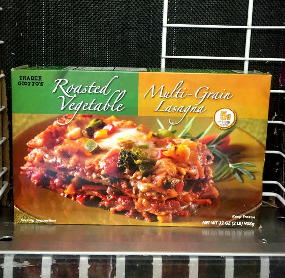 Trader Joe's Roasted Vegetable Multi Grain Lasagna (Frozen)