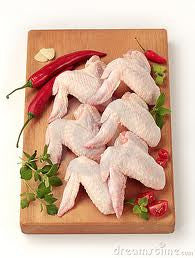 Organic Air Chilled Chicken Wings (Unprepared