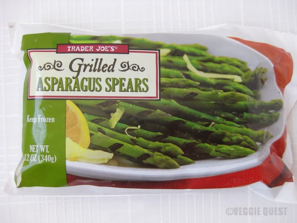 Trader Joe's Grilled Asparagus Spears (Frozen)