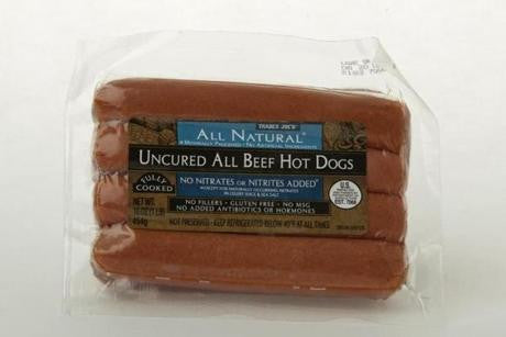 Trader Joe's All Natural Uncured All Beef Hot Dogs