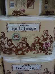 Trader Joe's Bath Tissue (12 Rolls, 2 Ply 250 Sheet Roll)