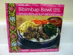 Trader Joe's Bibimbap Bowl (Beef, Veggies, Chili)