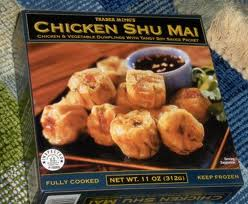Trader Joe's Chicken Shu Mai (Chicken and Vegetable Dumplings with Tangy Soy Sauce Packet)