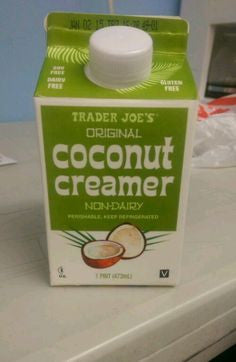 Trader Joe's Coconut Coffee Creamer