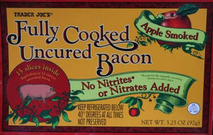 Trader Joe's Cooked Uncured Bacon (Apple Smoked)