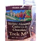 Trader Joe's Just a Handful Almonds Cashews Choco